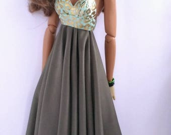 16 inch fashion doll dress is one  size fits all
