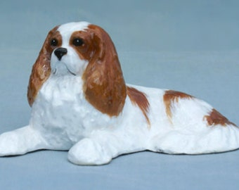 Cavalier King Charles Collectible Dog Figurine