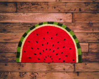 Quirky Watermelon Coir Doormat