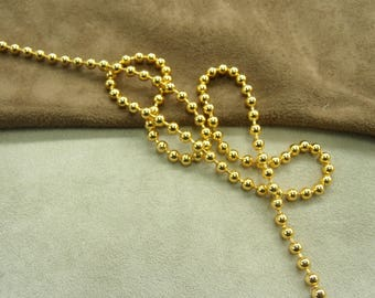 METAL - 0.35 cm - gold chain
