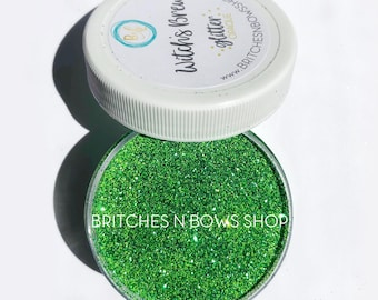 Witch's Brew    High Quality Polyester Glitter, 1oz by Weight OPAQUE