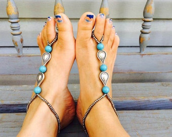 Vintage Style Barefoot Sandals