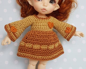 PukiFee/ Lati Yellow Dress Autumn Heart