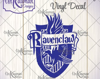DIY Iron On Vinyl Harry Potter Inspired Ravenclaw Crest Decal #HPRC