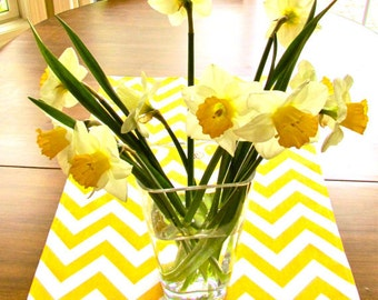 YELLOW TABLE RUNNER Yellow Chevron Table Runners Wedding Showers Decorative Yellow Chevron Table Runner 60 72 84 96