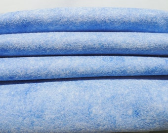 Wool Felt, Wool Felt Sheets, Spellbound Sapphire Wool Felt Collection, Merino Blend Wool, Craft Felt, 12 X 18