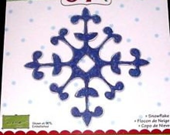 Sizzix Bigz Die, SNOWFLAKE, NEW #655545 Holidays