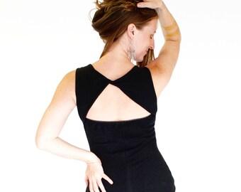 Yoga Dance Tank Top, open back - AVALON TANK- festival clothing, yoga, hooping, burning man, summer tank women's clothes