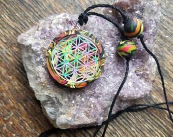 Flower of Life handmade pendant