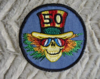 GD Uncle Sam 50th Anniversary Patch