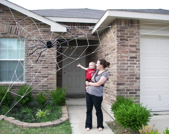 20 ft Almost GIANT Spider Web - Halloween House Prop