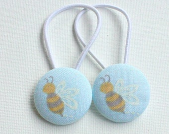 Bee hair ties