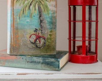 Shabby Painted Book