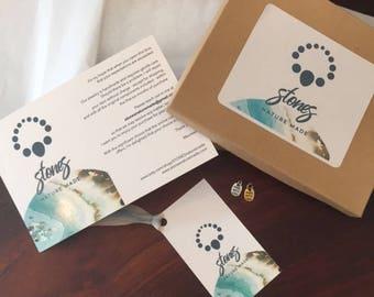 STONESnaturemade gift packaging