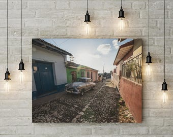 Streets of Trynidad. Cuba. Fine art photography.