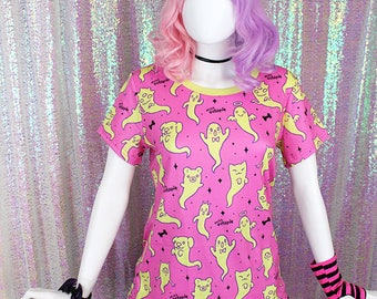 "Pink ""Lil' Ghosties"" T-Shirt"