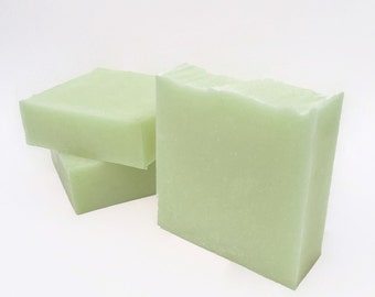 Handmade Soap, Cucumber Mint Soap, Bar Soap, Gift for Her, Cold Process Soap, Spring Soap, Palm Free Soap, Vegan Soap