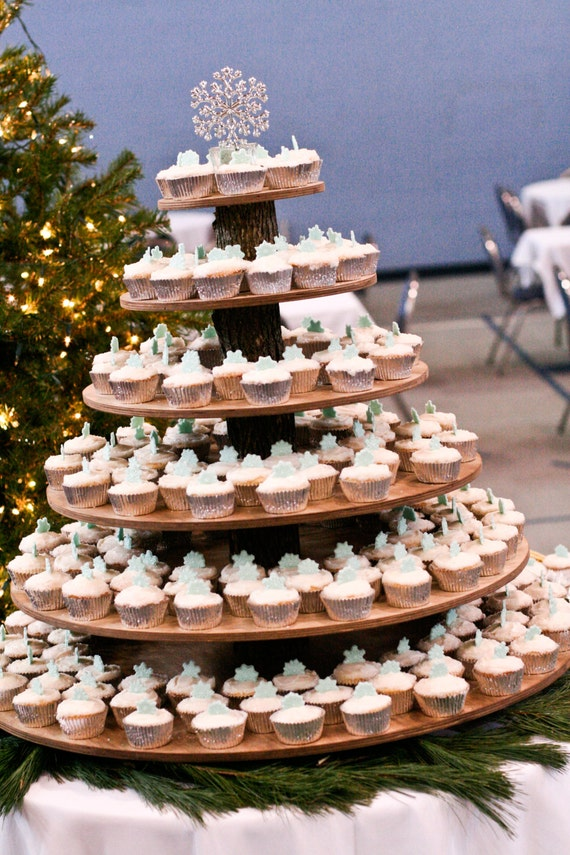 rustic cupcake stand 6 tier tower holder 200 cupcakes 400