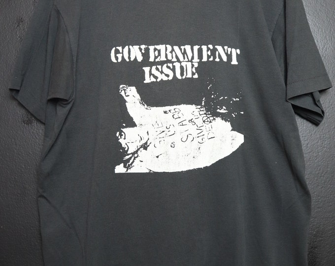 Government Issue 1980's vintage Tshirt