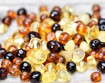 Wholesale 500 pcs Baltic amber beads