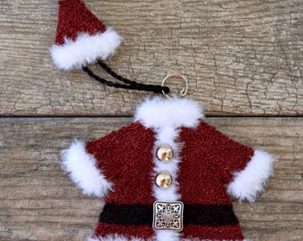 North Pole Couture Collection Punch Needle : Santa Jacket