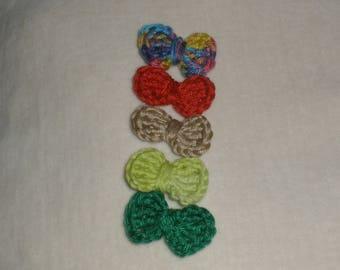 Set of 5 bows