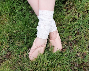 Lace Leg Warmers/ leg warmers for girls/ leg warmers/ lace clothing