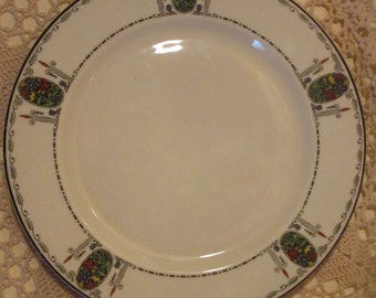 Early Syracuse China Rosemont Pattern Plate
