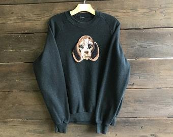Vintage 90s Beagle Sweatshirt