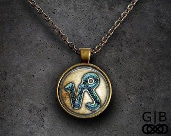 Capricorn Astrology Necklace Pendant - Capricorn Astrology Pendant Necklace Capricorn Jewelry Necklace Capricorn Astrology Necklace Pendant