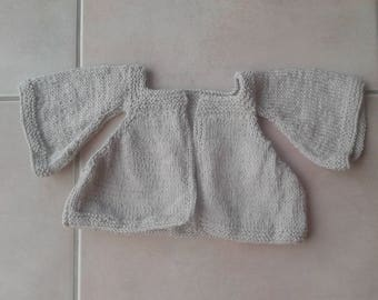 short vest made with cotton