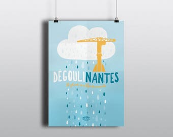 Poster illustration Degouli/Nantes
