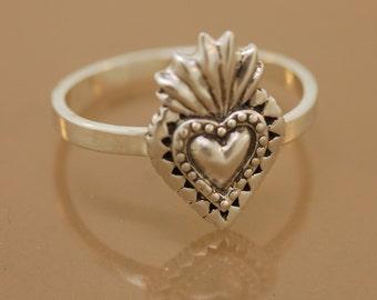 Sacred Heart Ring