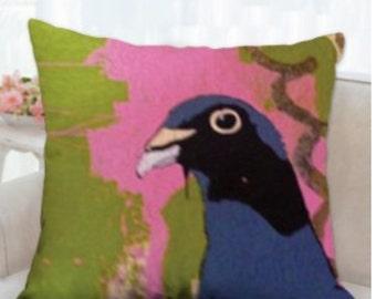 Birdie 16x16 Indoor/outdoor Pillow