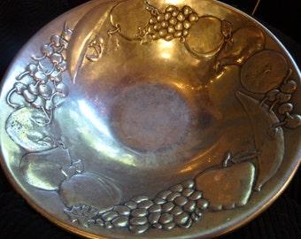 Pewter Bowl, Wilton Pewter Fruit Bowl, Decorative Fruit Bowl, Wilton Fruit Bowl