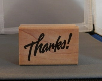 Thanks!  Rubber Stamp