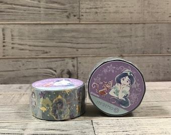Disney Jasmine from Aladdin washi tape entire roll 4m(4.37yd) DZ-50699