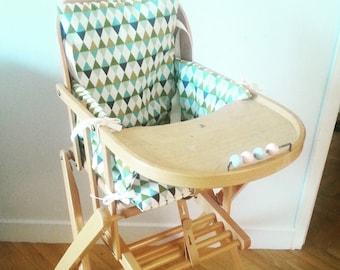Jose high chair cushion