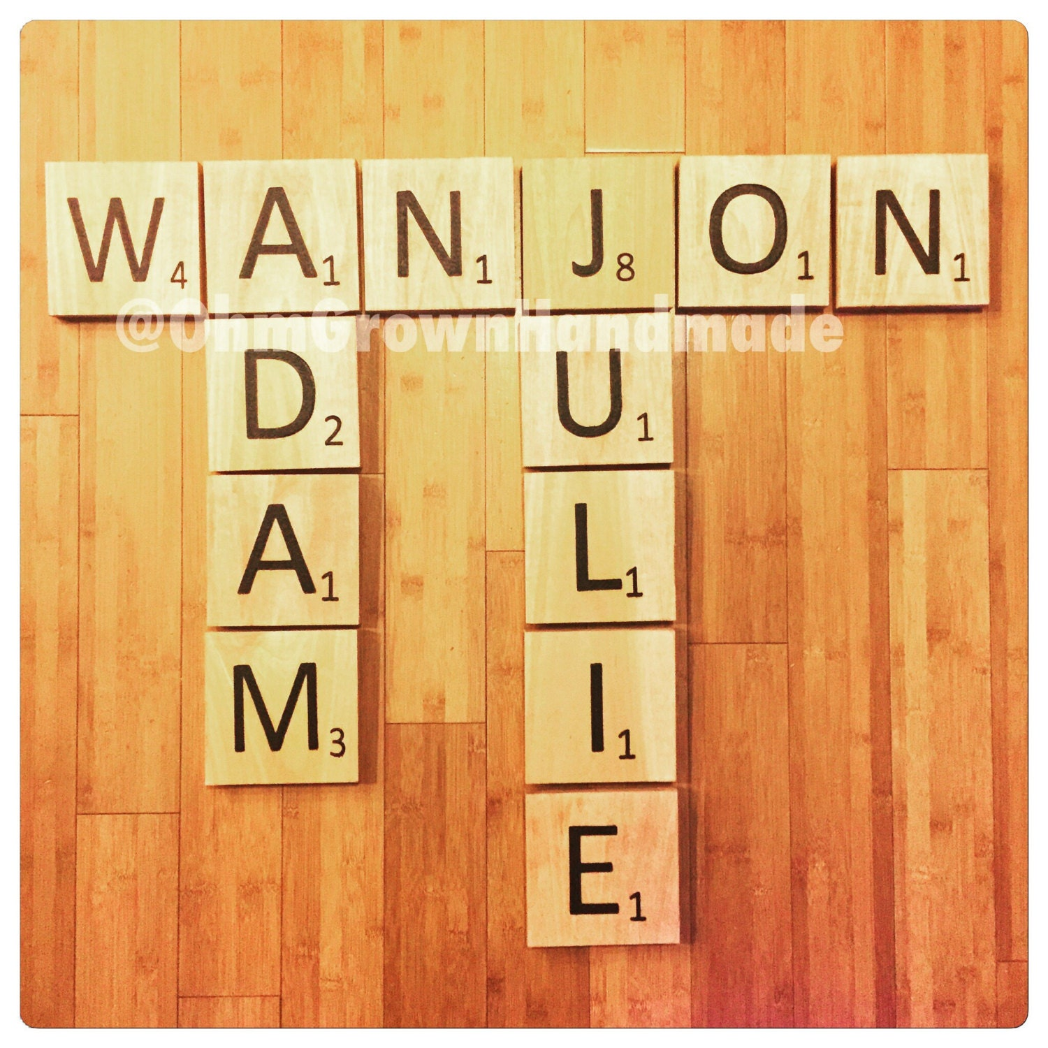 Colorful Large Scrabble Letters Wall Decor Inspiration - The Wall ...