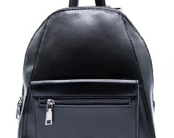 Backpack leather, Color leather Backpack, Backpack women.