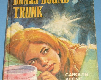 Nancy Drew UK Collins Brass Bound Trunk
