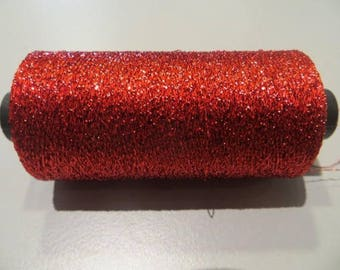 Glitter, shiny red color