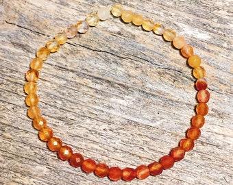 Energizing Carnelian Healing Bracelet