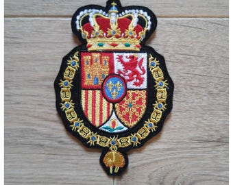 Coat of arms Crest Escudo Spanish Casa Spanish Royal patch
