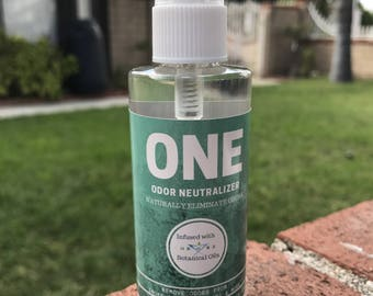 SMOKE and ODOR ELIMINATOR odor neutralizer, Room & Car Spray odor remover 3oz