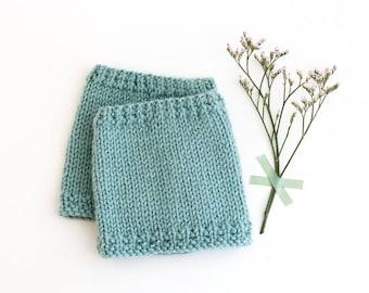 AGUAMARINA Baby leg warmers