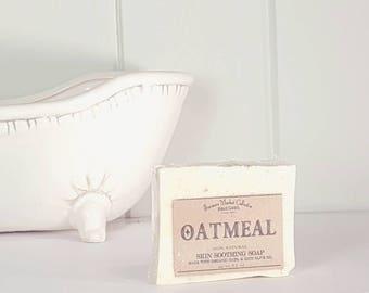 Oatmeal | Soap | Sensitive Skin | Vegan |  organic colloidal oats| Avena Sativa | homemade | Farmers Market | fragrance free
