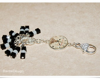 Stitch Markers for Knitting key fob Lanyard