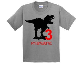 Dinosaur Birthday Shirt, Dinosaur Shirt, Dinosaur Party, Birthday Dinosaur Party, Trex Shirt