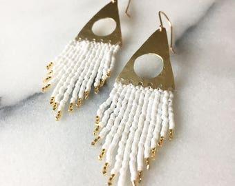 Alexandria beaded earrings